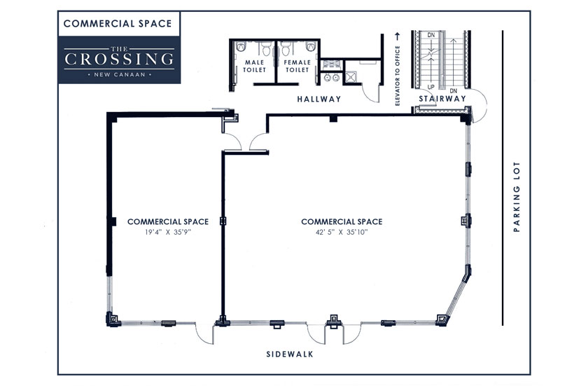 28 retail space floor plan oxford high end retail for Commercial floor plan